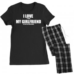 i love it when my girlfriend lets me play video games Women's Pajamas Set | Artistshot