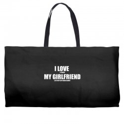 i love it when my girlfriend lets me play video games Weekender Totes | Artistshot