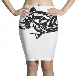 predator bass fish Pencil Skirts | Artistshot