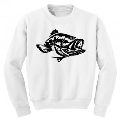 predator bass fish Youth Sweatshirt | Artistshot