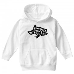 predator bass fish Youth Hoodie | Artistshot