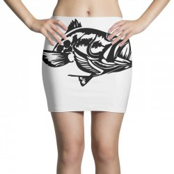 predator bass fish Mini Skirts | Artistshot