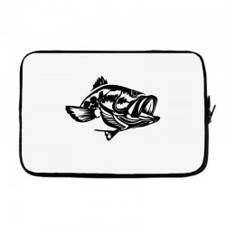 predator bass fish Laptop sleeve | Artistshot
