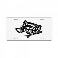 predator bass fish License Plate | Artistshot