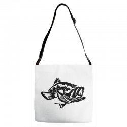 predator bass fish Adjustable Strap Totes | Artistshot