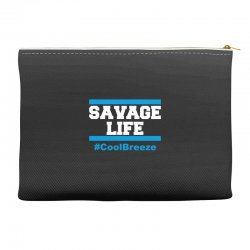 savage life cool breeze Accessory Pouches | Artistshot