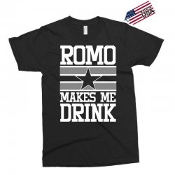 romo makes me drink Exclusive T-shirt | Artistshot