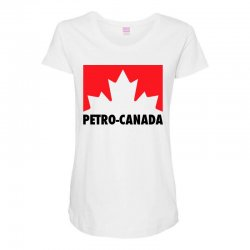 petro canada Maternity Scoop Neck T-shirt | Artistshot