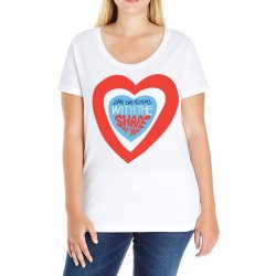 i'm in love with the shape of you Ladies Curvy T-Shirt | Artistshot