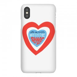 i'm in love with the shape of you iPhoneX Case | Artistshot