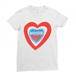i'm in love with the shape of you Ladies Fitted T-Shirt | Artistshot