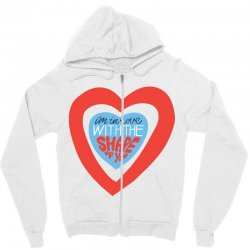 i'm in love with the shape of you Zipper Hoodie | Artistshot
