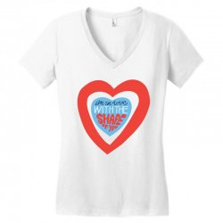 i'm in love with the shape of you Women's V-Neck T-Shirt | Artistshot