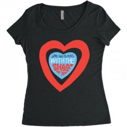 i'm in love with the shape of you Women's Triblend Scoop T-shirt | Artistshot