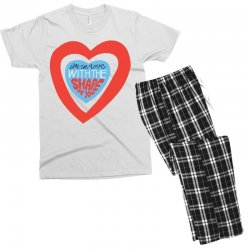 i'm in love with the shape of you Men's T-shirt Pajama Set | Artistshot
