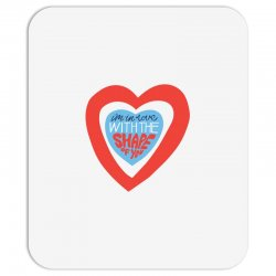 i'm in love with the shape of you Mousepad | Artistshot
