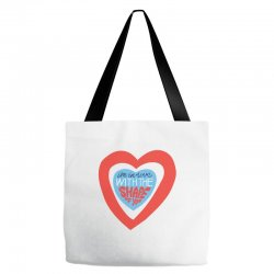 i'm in love with the shape of you Tote Bags | Artistshot