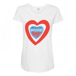 i'm in love with the shape of you Maternity Scoop Neck T-shirt | Artistshot