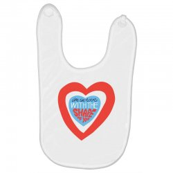 i'm in love with the shape of you Baby Bibs | Artistshot