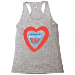 i'm in love with the shape of you Racerback Tank | Artistshot