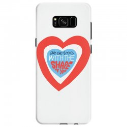 i'm in love with the shape of you Samsung Galaxy S8 Case | Artistshot
