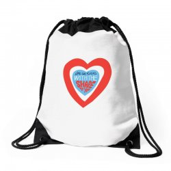 i'm in love with the shape of you Drawstring Bags | Artistshot