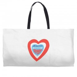 i'm in love with the shape of you Weekender Totes | Artistshot