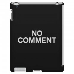no comment iPad 3 and 4 Case | Artistshot