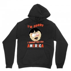 i thought this was america Unisex Hoodie | Artistshot