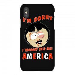i thought this was america iPhoneX Case | Artistshot