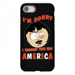 i thought this was america iPhone 8 Case | Artistshot
