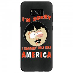 i thought this was america Samsung Galaxy S8 Case | Artistshot