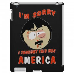 i thought this was america iPad 3 and 4 Case | Artistshot