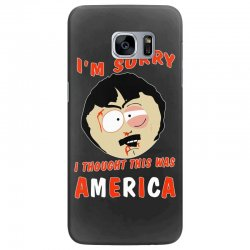 i thought this was america Samsung Galaxy S7 Edge Case | Artistshot