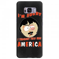 i thought this was america Samsung Galaxy S8 Plus Case | Artistshot