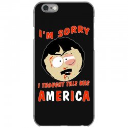 i thought this was america iPhone 6/6s Case | Artistshot