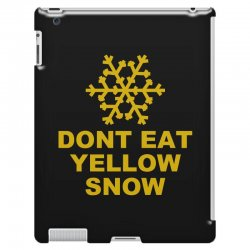 don't eat yellow snow iPad 3 and 4 Case | Artistshot