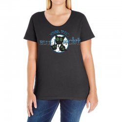 coal tar blue Ladies Curvy T-Shirt | Artistshot