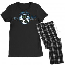 coal tar blue Women's Pajamas Set | Artistshot