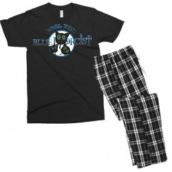 coal tar blue Men's T-shirt Pajama Set | Artistshot