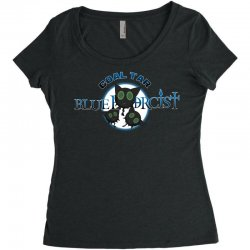 coal tar blue Women's Triblend Scoop T-shirt | Artistshot