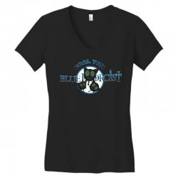 coal tar blue Women's V-Neck T-Shirt | Artistshot