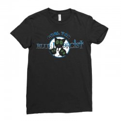 coal tar blue Ladies Fitted T-Shirt | Artistshot