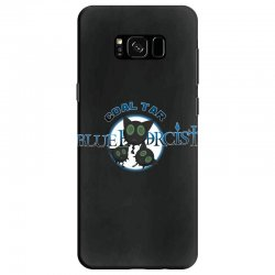 coal tar blue Samsung Galaxy S8 Case | Artistshot