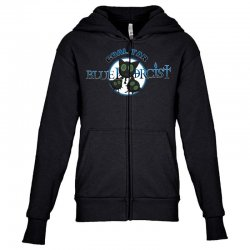 coal tar blue Youth Zipper Hoodie | Artistshot