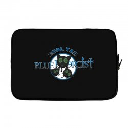 coal tar blue Laptop sleeve | Artistshot
