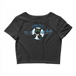 coal tar blue Crop Top | Artistshot