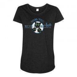 coal tar blue Maternity Scoop Neck T-shirt | Artistshot