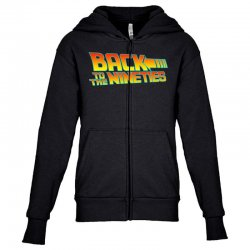 back to the 90s Youth Zipper Hoodie | Artistshot