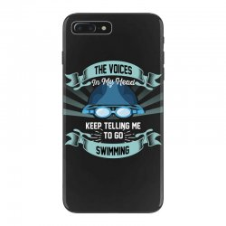 the voices in my head keep telling me to go swimming iPhone 7 Plus Case | Artistshot